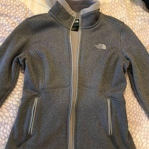 North Face Grey Women's Zip Up